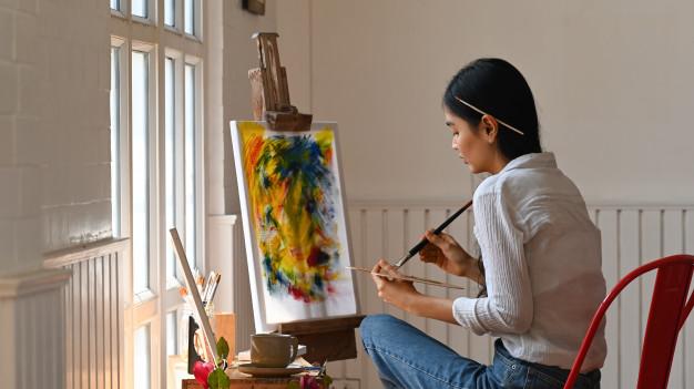 ศิลปะทำให้เราเป็นคนใจเย็นและมีสติมากยิ่งขึ้น